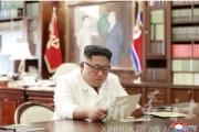 មេដឹកនាំកូរ៉េខាងជើង Kim Jong Un ទទួលលិខិតពីលោកប្រធានាធិបតីអាមេរិក Trump